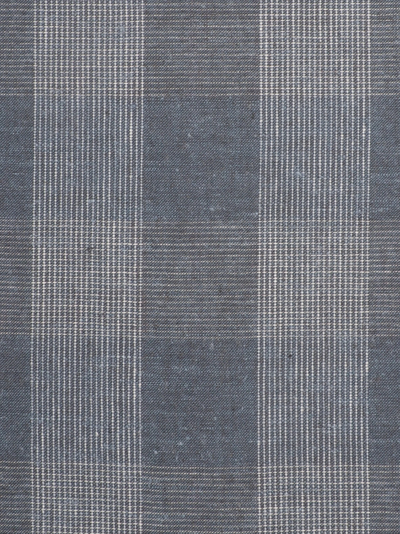 Hemp & Organic Cotton Light Weight Plaid Fabric ( HG58E143D )