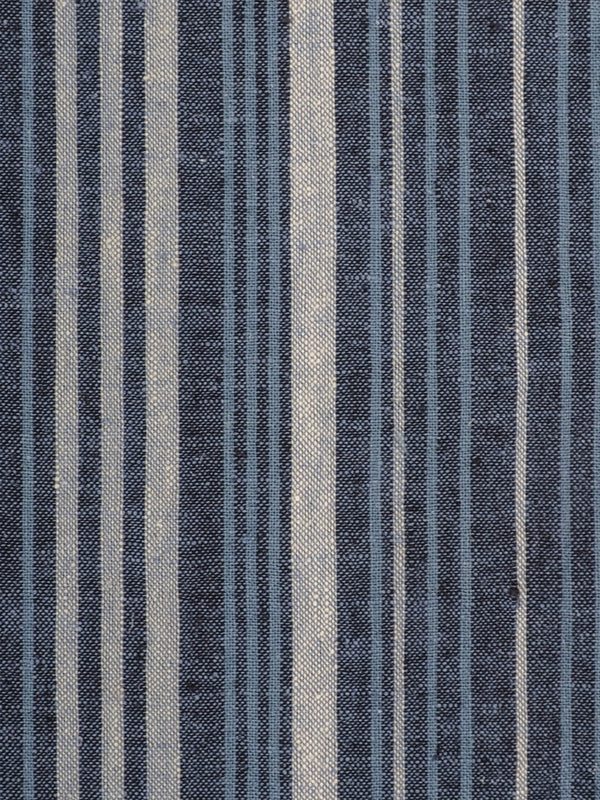 Hemp & Organic Cotton Light Weight Stripe Fabric ( HG58E202H )