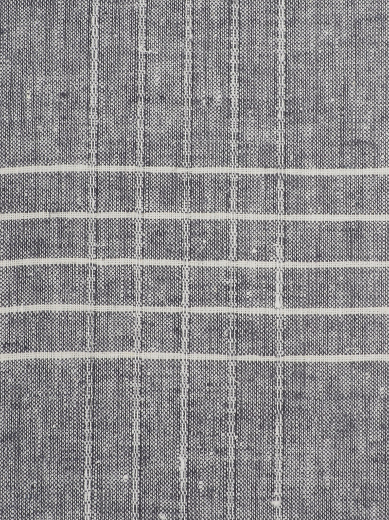 Hemp & Organic Cotton Light Weight Jacquard Fabric ( HG58E215J )