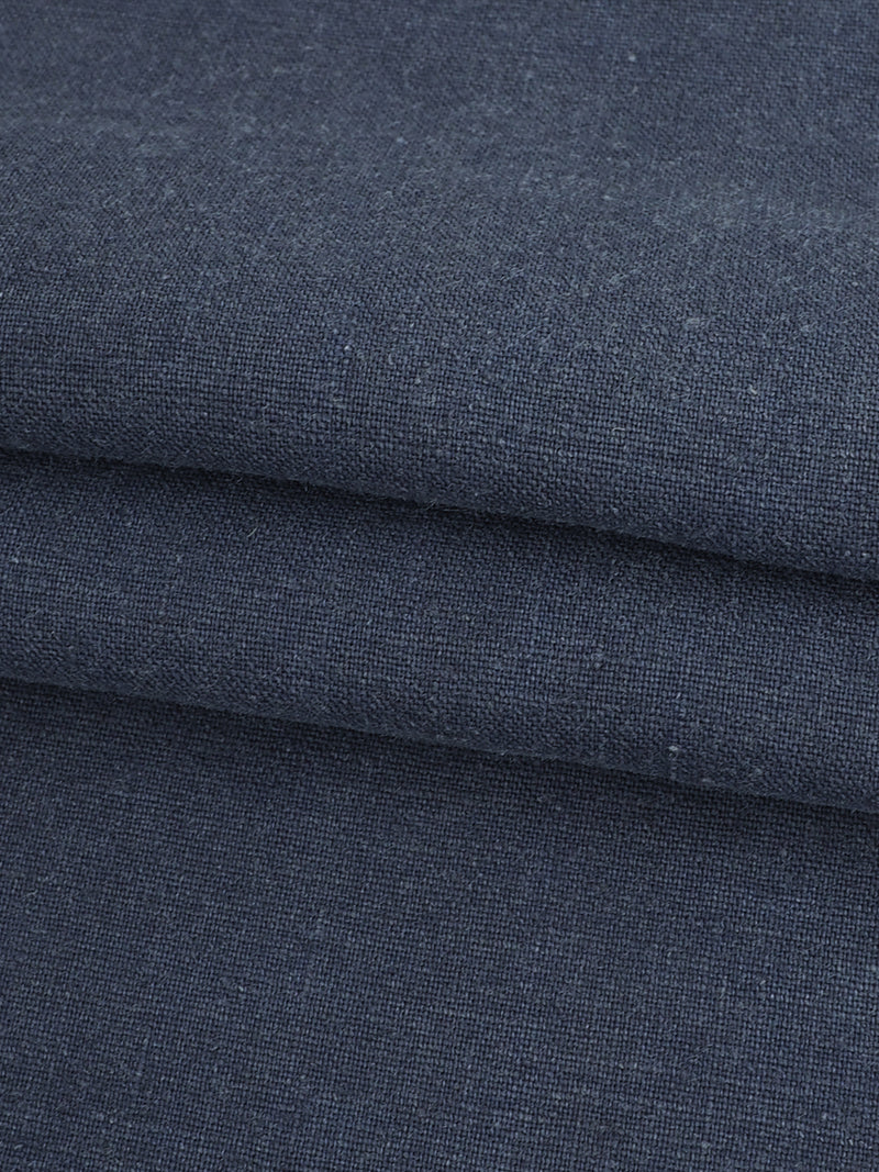 Hemp & Organic Cotton Light Weight Stretched Plain Fabric ( HG58E220 )