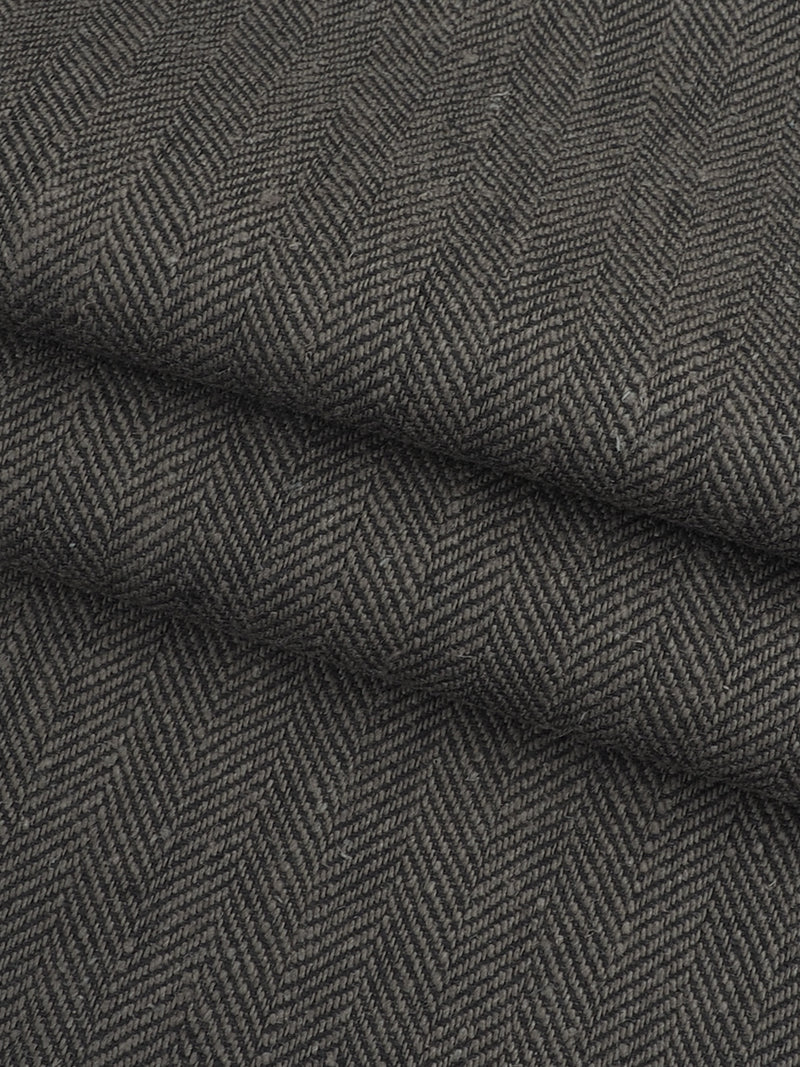 Hemp & Organic Cotton Mid-Weight Herringbone ( HG60D427C ) - Hemp Fortex