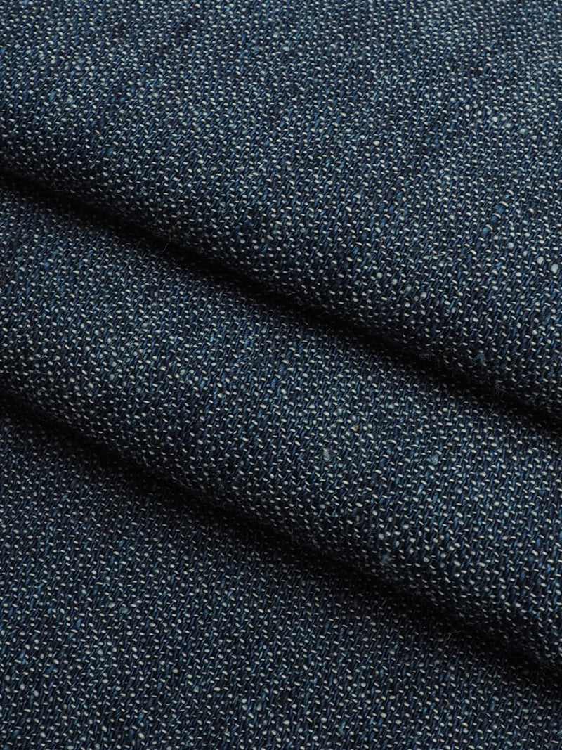 Hemp & Organic Cotton Light Weight High Twist Jacquard Denim