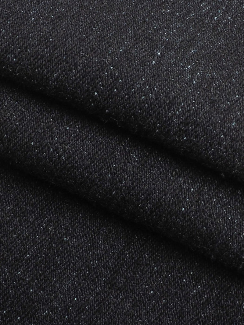 Hemp & Organic Cotton Heavy-Weight Stretched Jacquard Denim(HG90C183A) - Hemp Fortex