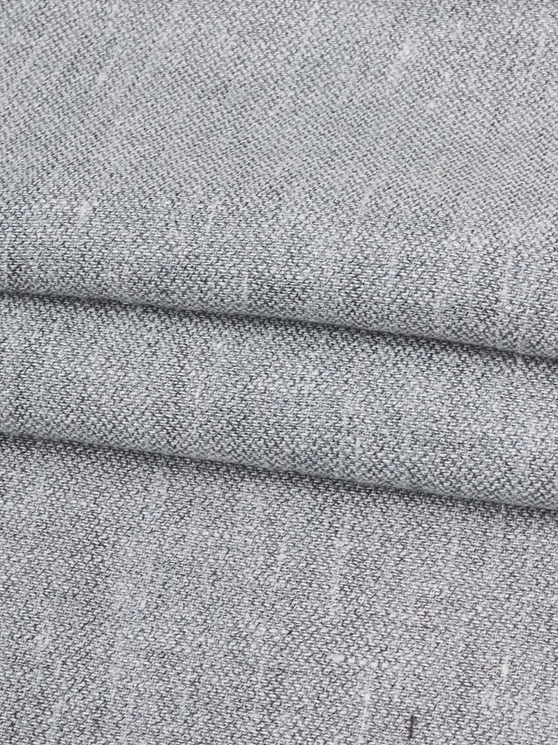 Hemp, Recycled Poly & Organic Cotton Light Weight Herringbone Fabric (HP4204)