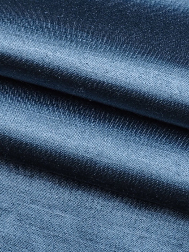 Hemp, Organic Cotton & Silk Mid-Weight Satin(HS305B112)