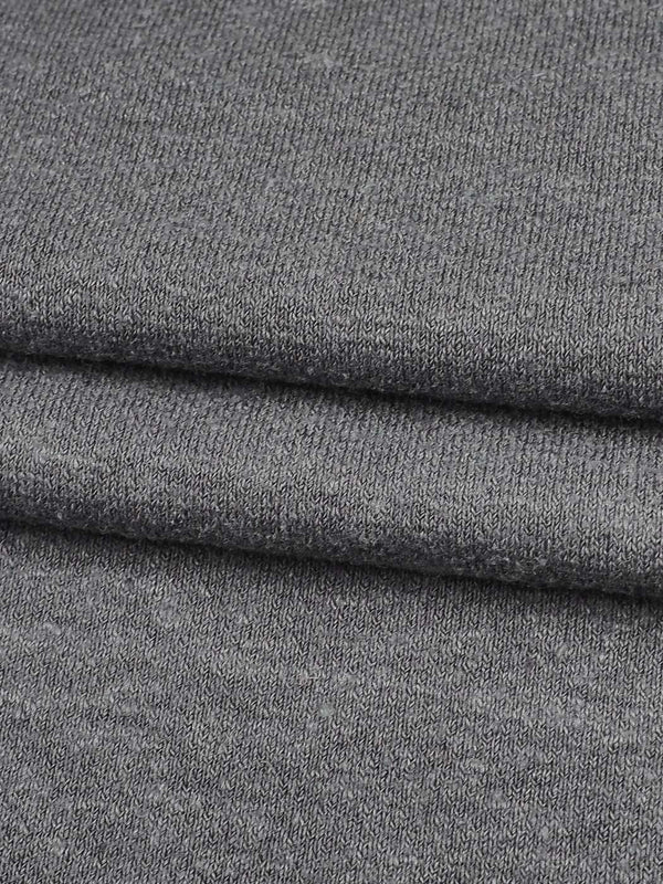 Hemp, Recycled Poly & Tencel Mid-Weight Stretched Jersey Fabric ( J8001)