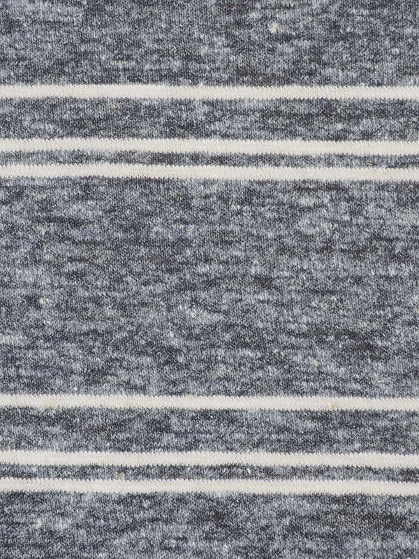 Hemp, Modal & Organic Cotton Mid-Weight Yarn Dyed Jersey Fabric (J8028)