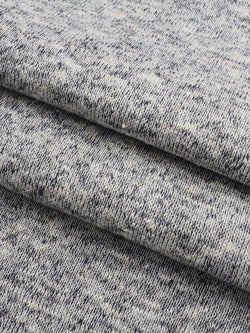Hemp & Organic Cotton Mid-Weight Fleece(Heather Effect)(KF14065) - Hemp Fortex