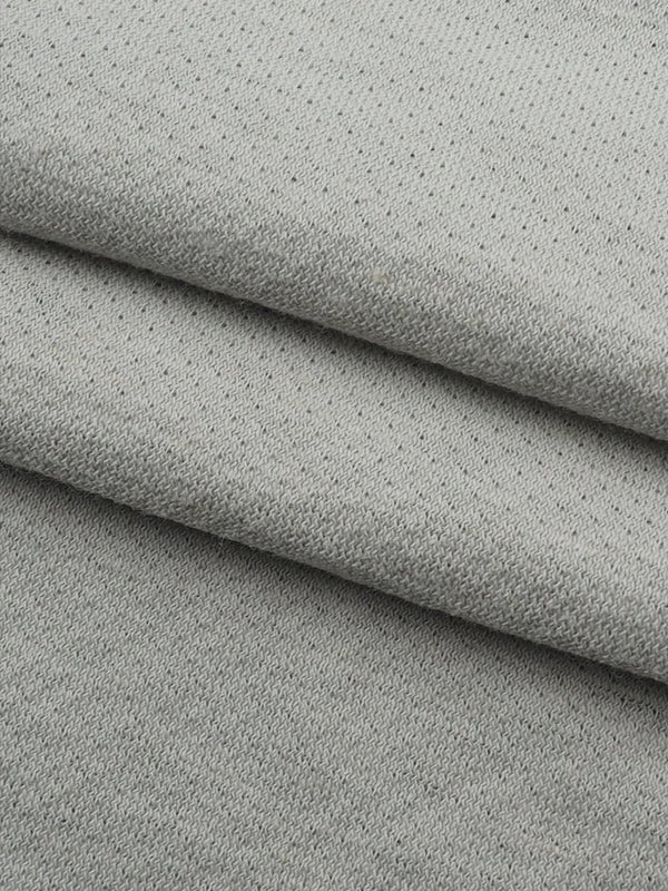 Hemp & Organic Cotton Light Weight Jacquard Jersey