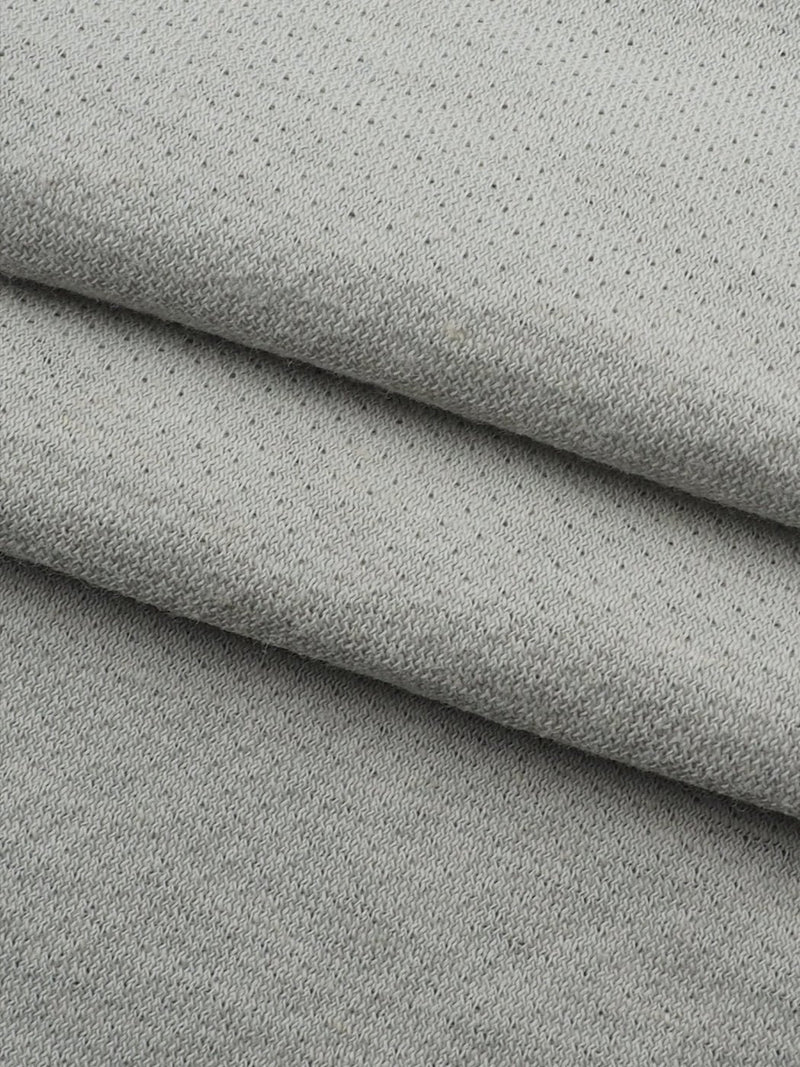 Hemp & Organic Cotton Light Weight Jacquard Jersey(KJ14123)