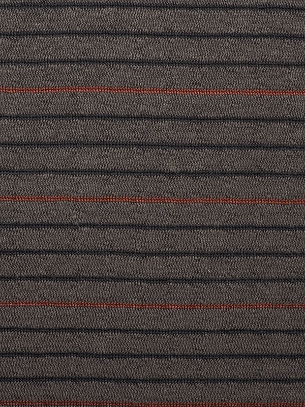 Hemp, Organic Cotton & Recycled Polyester Mid-Weight Stripe Jersey