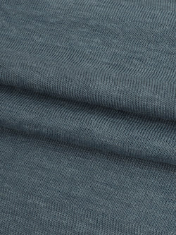 Hemp, Recycled Poly & Tencel Light Weight Herringbone Jersey Fabric ( KJ21E876 )