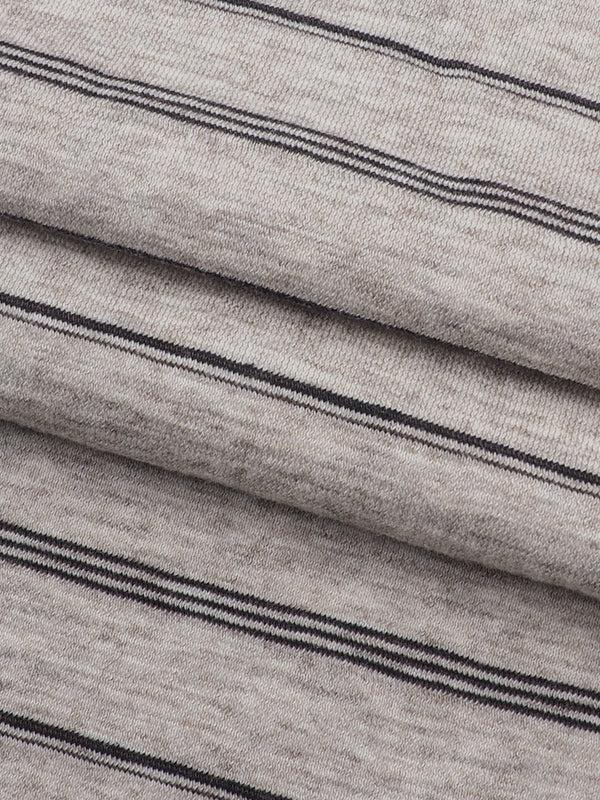 Hemp, Organic Cotton, Yak Light Weight Stripe Jersey