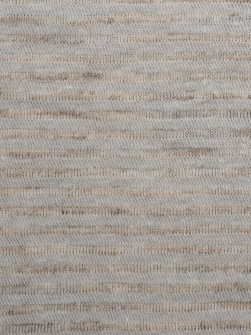 Hemp, Organic Cotton & Tencel Mid-Weight Stripe Jersey(KJ36D835)