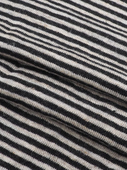 Hemp, Organic Cotton & Lyocell Mid-Weight Stripe Jersey