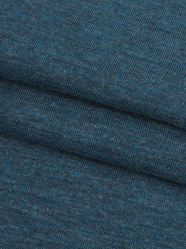 Organic Cotton & Bamboo Light Weight Stretched Heather Jersey Fabric ( KJ40C830 )