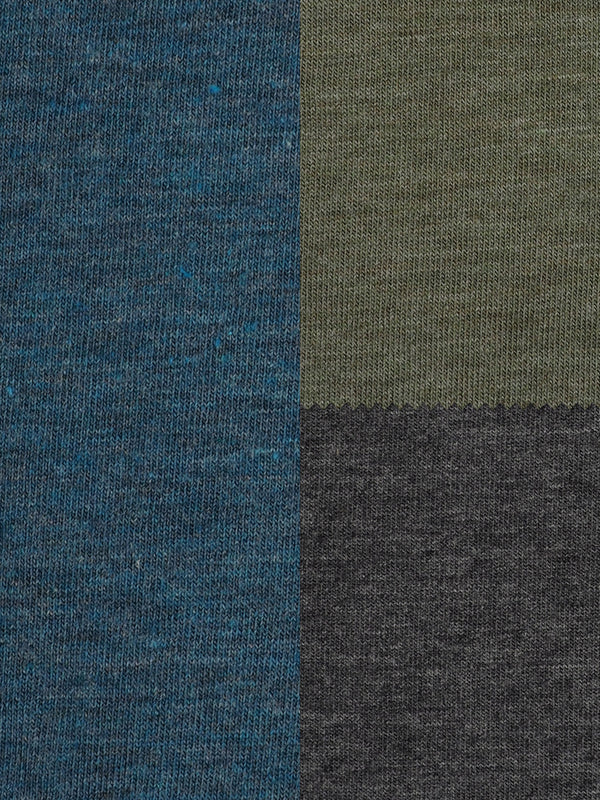 Organic Cotton & Bamboo Light Weight Stretched Heather Jersey Fabric ( KJ40C830 Three Colors Available )