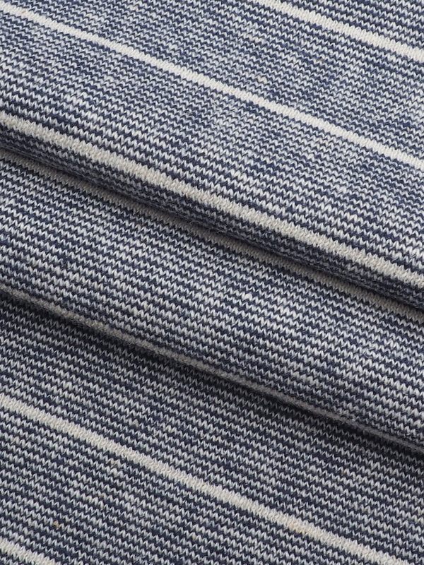 Hemp & Organic Cotton Heavy Weight Stripe Terry