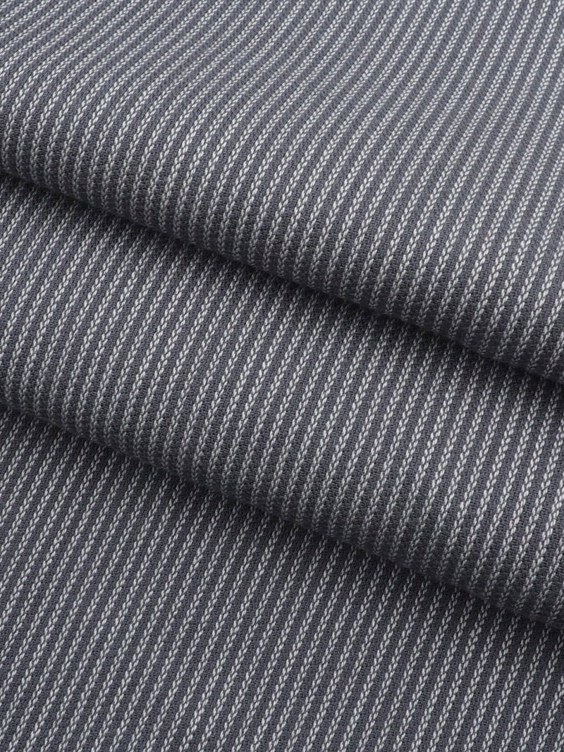 Pure Organic Cotton Light Weight Vertical Stripe Fabric(OG108C161)