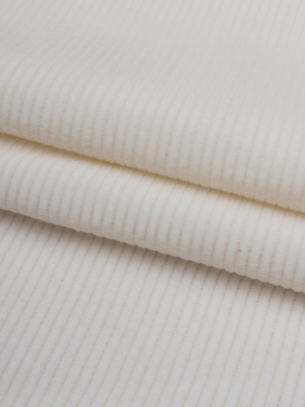 Pure Organic Cotton Heavy Weight Stretched Corduroy Fabric ( OG356 )