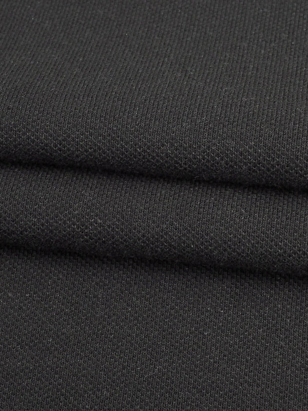 Hemp & Organic Cotton Mid-Weight Stretched Pique Fabric ( P2063)