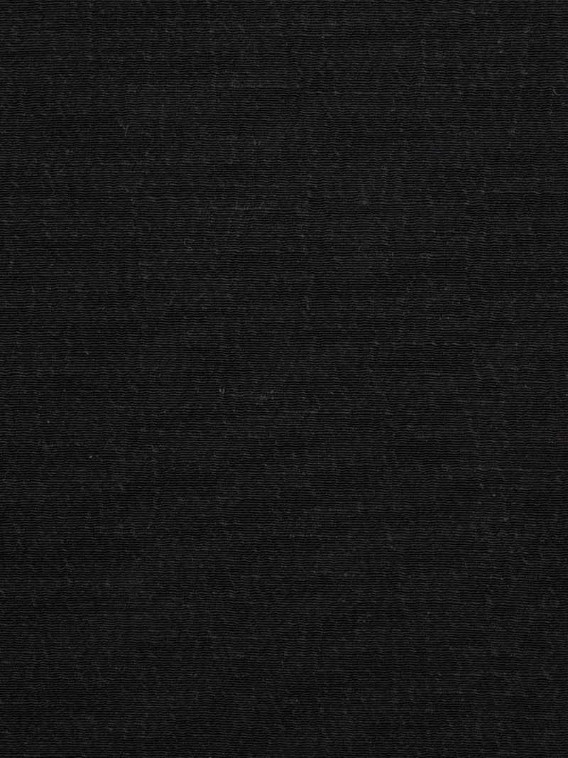 Hemp, Silk & Organic Cotton Light Weight Crinkle Fabric ( HS605 Black )