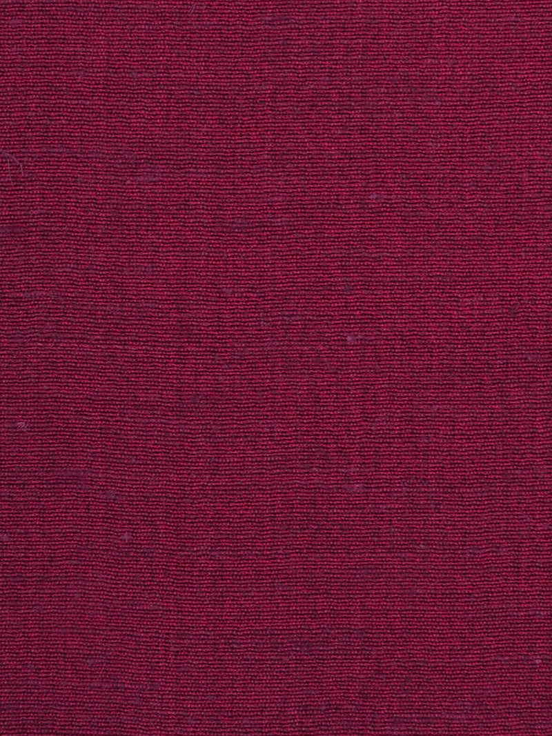Hemp, Silk & Tencel Light Weight Fabric ( HS123D021 Purplish Red )