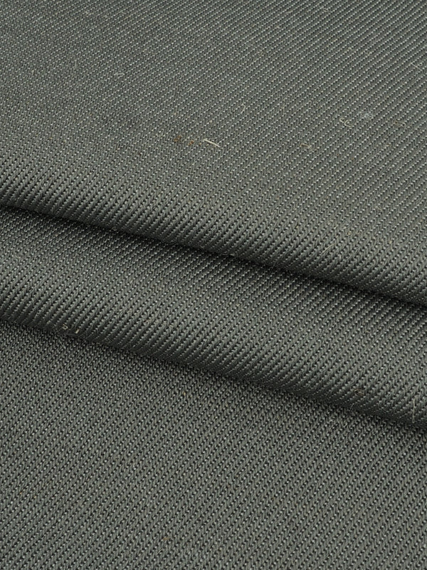 Hemp & Recycled Polyester Mid-Weight Twill ( PH100C261B ) - Hemp Fortex