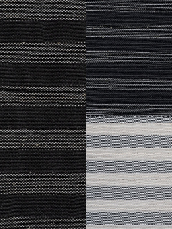Hemp & Recycled Polyester Mid-Weight Stripe ( PH100C264B ) - Hemp Fortex