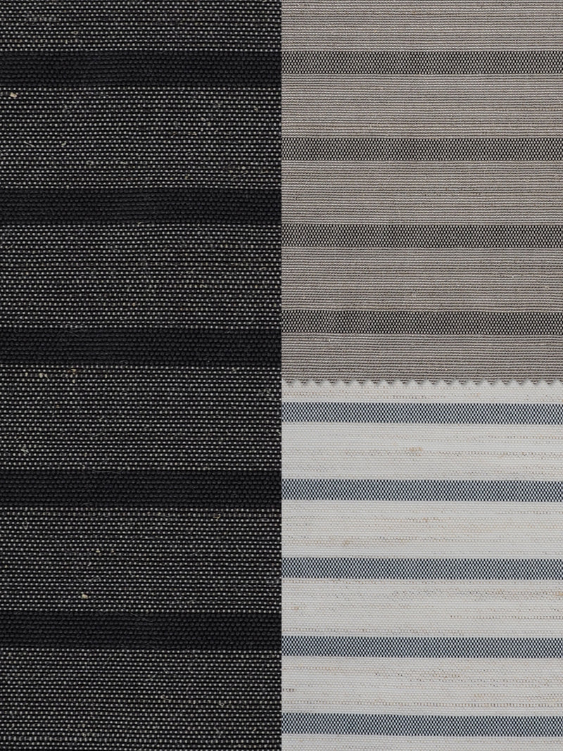 Hemp & Recycled Poly Mid-Weight Stripe ( PH100C265D ) - Hemp Fortex