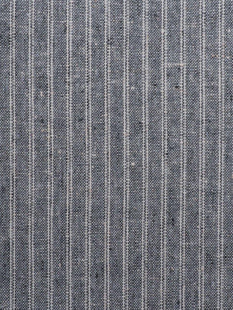 Recycled Hemp & Organic Cotton Mid-Weight Vertical Stripe(RE11562)
