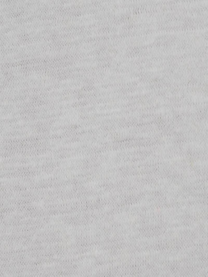 Linen & Cotton Mid Weight Jersey Fabric(KJ13851 PFD Color)