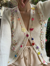 Rainbow Snow White cardigan
