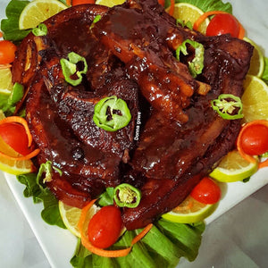 Jerk BBQ Pork Ribs