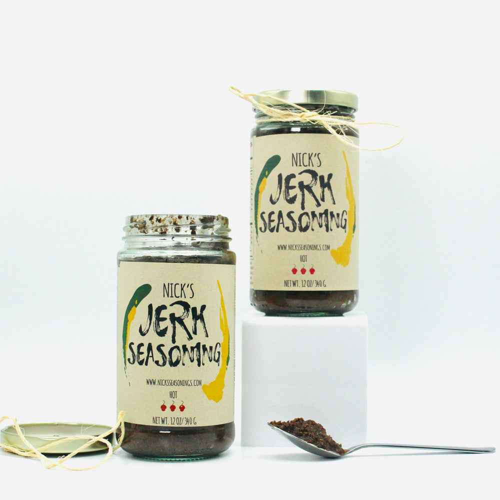 Jerk Seasoning, Hot 12oz.