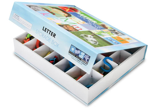 Storage Box for Magnetic Letters