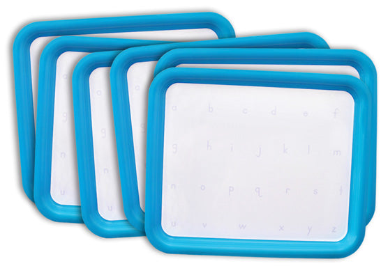 Magnetic Letter Tray Printed With Letters Set Of Six