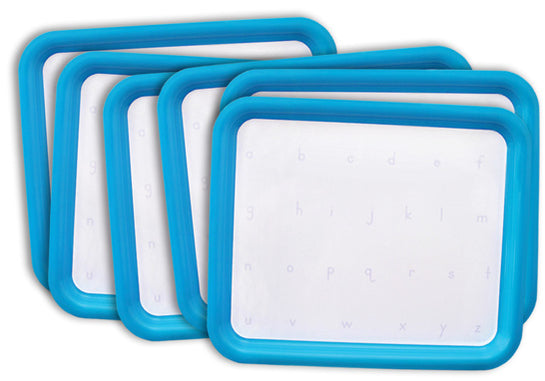 Magnetic Letter Tray printed with letters - Set of Six