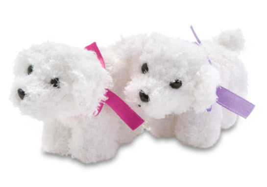 Bella And Rosie - Two Small Plush Dogs