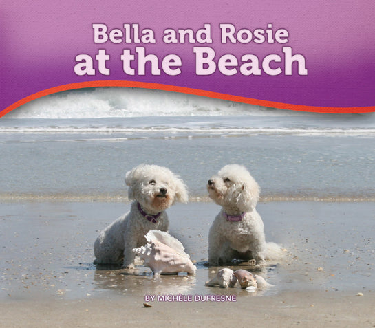 Bella and Rosie at the Beach