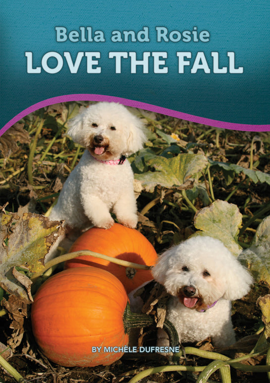 Bella and Rosie Love the Fall