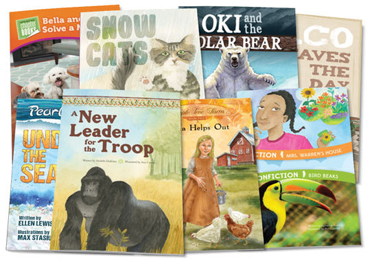 Chapter Book Bundle for Transitional and Fluent Readers