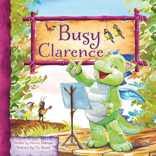 Lap Book: Busy Clarence