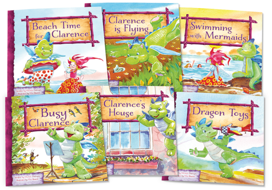 Clarence the Dragon Set 2 Lap Books