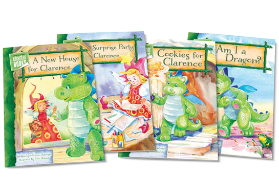 Clarence the Dragon Chapter Books