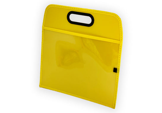 Lapboard with Write-On Sleeve, Yellow