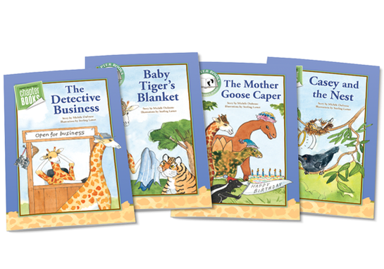 Georgie Giraffe Chapter Books