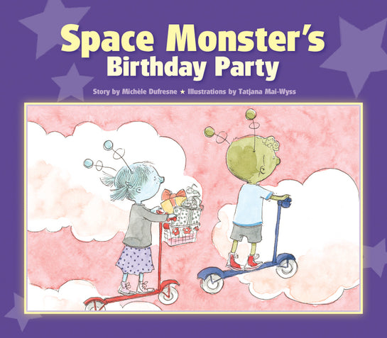 Space Monster's Birthday Party