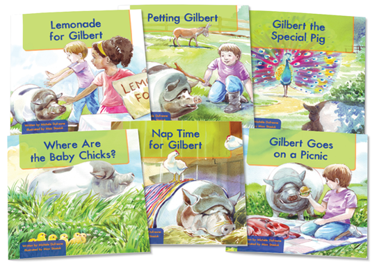 Gilbert the Pig Set 2 (Illustrated)