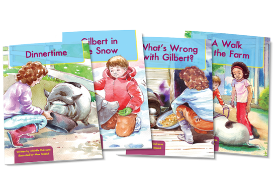 Gilbert the Pig Chapter Books (Illustrated)
